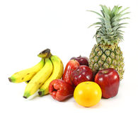Many of exotic fruits Stock Image