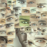 Many eyes Royalty Free Stock Photography