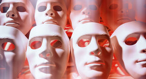Many faces mask Royalty Free Stock Photography