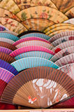Many fans Stock Image