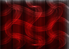 Many fine lines on a red background Royalty Free Stock Photos
