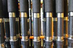Many Fishing rod Stock Photography