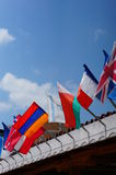 Many flags Royalty Free Stock Photos