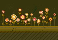 Many flowers,vector Stock Photography