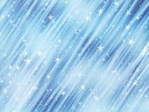Many flying stars on a dreamy backgrounds. Many flying stars on dreamy backgrounds Stock Photo