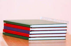 Many folders on the office desk. Stock Images