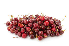 Many fresh cherries Stock Images