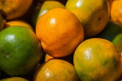 Many fresh orange, healthy ad popular drink Stock Images