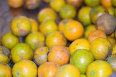 Many fresh raw of orange. And background Stock Photos