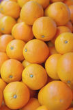 Many fresh the raw orange. Sell in market Stock Images