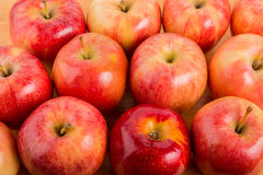 Many Fresh Red Apples Stock Photos