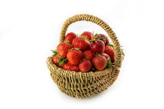 Many fresh red strawberries Stock Image