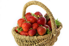 Many fresh red strawberries Royalty Free Stock Image