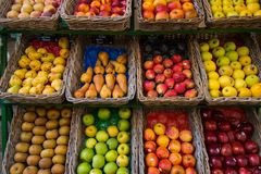 Many froots Royalty Free Stock Images