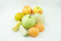 Many fruit Royalty Free Stock Photo