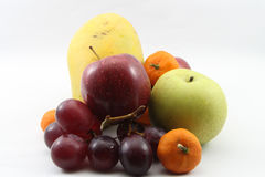 Many fruits beautifully Stock Images