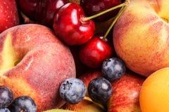 Many fruits , large selection Royalty Free Stock Photography