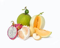 Many fruits Royalty Free Stock Image