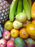 Many fruits Royalty Free Stock Photo
