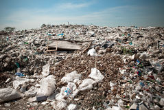 Many of Garbage, pollution, Global warming Royalty Free Stock Photography