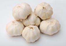 Many garlics Stock Photo