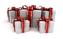 Many gift Royalty Free Stock Photo