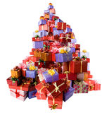 Many gift boxes Royalty Free Stock Image