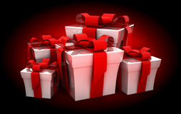 Many gift Royalty Free Stock Images