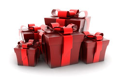 Many gift Stock Images