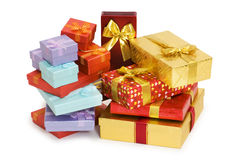 Free Many Giftboxes Isolated Stock Images - 6597414