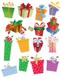 Many Gifts Royalty Free Stock Image