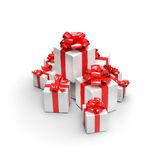 Many gifts Royalty Free Stock Photography