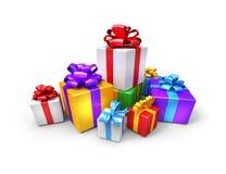 Many gifts Stock Photos