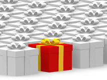 Many gifts Royalty Free Stock Images