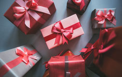 Many gifts. Stock Photos