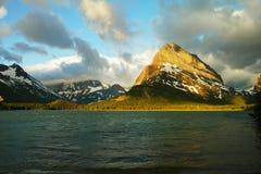 Many Glacier lake Stock Images