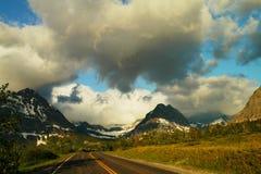 Many Glacier lake Royalty Free Stock Photos