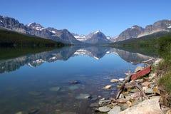 Many Glaciers Royalty Free Stock Photography