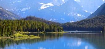 Many Glaciers park Stock Photo