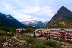 Many glaicers hotel. Montana. Glacier National Park. Montana. USA Royalty Free Stock Photography
