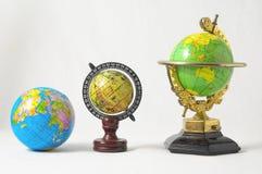 Many Globes Royalty Free Stock Photos