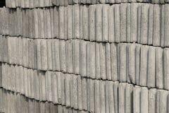 Many gray brick/concrete block texture background. Stock Images