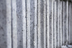 Many gray brick/concrete block texture background. a lot of overlap material. Royalty Free Stock Photos
