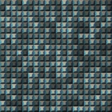 Many gray, green shades abstract tiling geometric texture. Black light and dark grey and white color mosaic tile Stock Photography