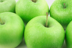 Many green apples Stock Photo
