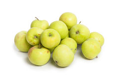 Many green apples Royalty Free Stock Images