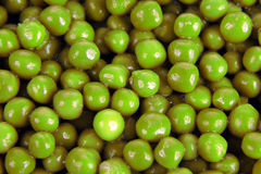 Many of green peas close up. The many of green peas close up Stock Photo