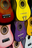 Many guitars Royalty Free Stock Photo