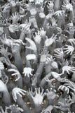 Many hands Stock Photo