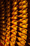 Many of hands. Many of gold hands in the temple, Thailand royalty free stock photography